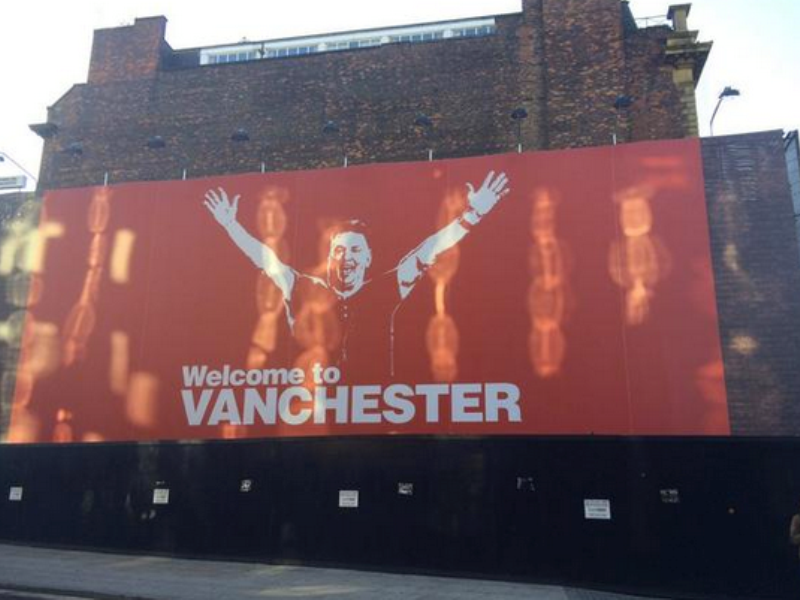 Quand MU devient « Vanchester »