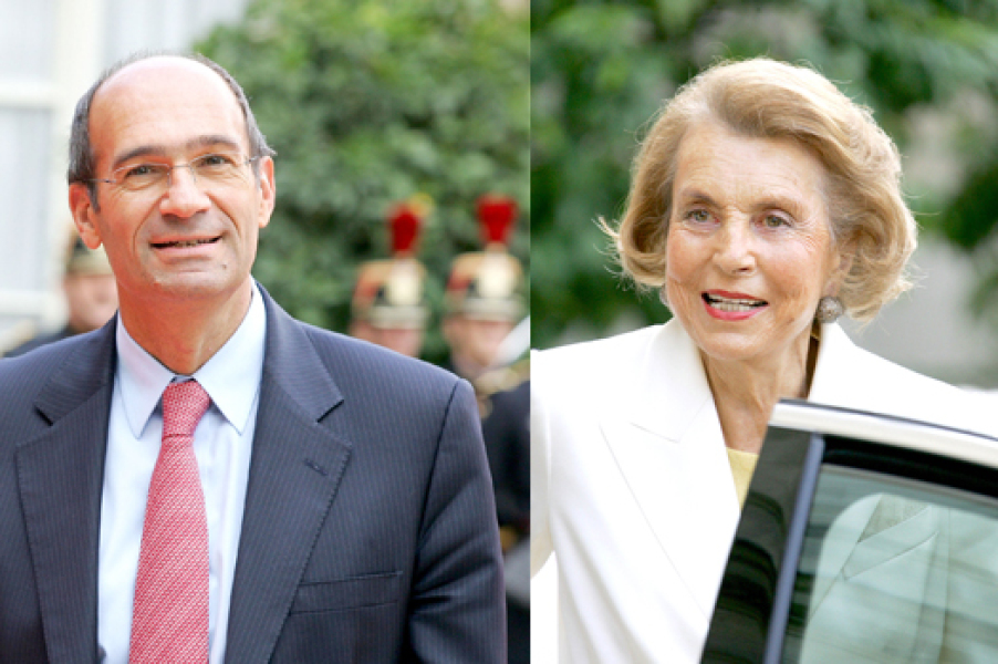 Eric Woerth et Liliane Bettencourt