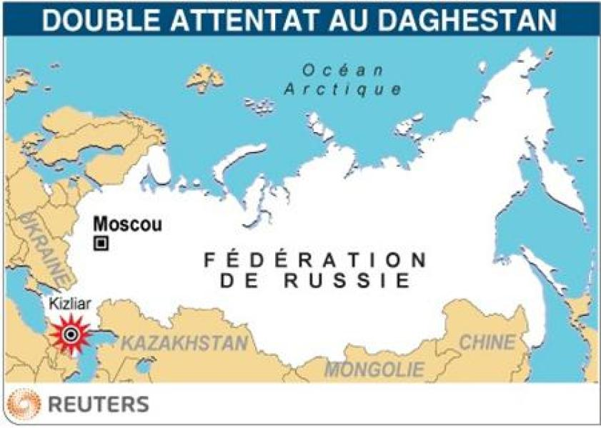 Double attentat au daghestan
