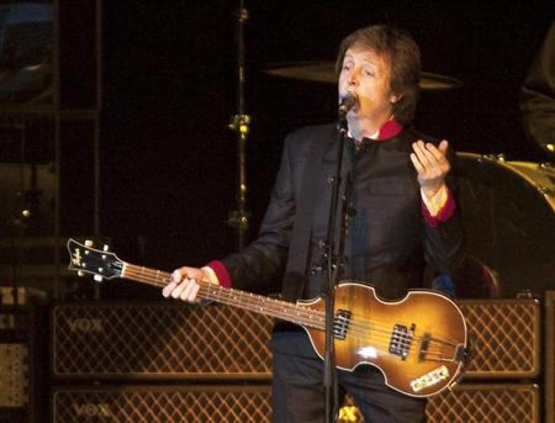 Paul mccartney signe un accord de réédition avec le label concord