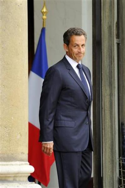 Nicolas sarkozy doit affronter le mécontentement de l'opinion