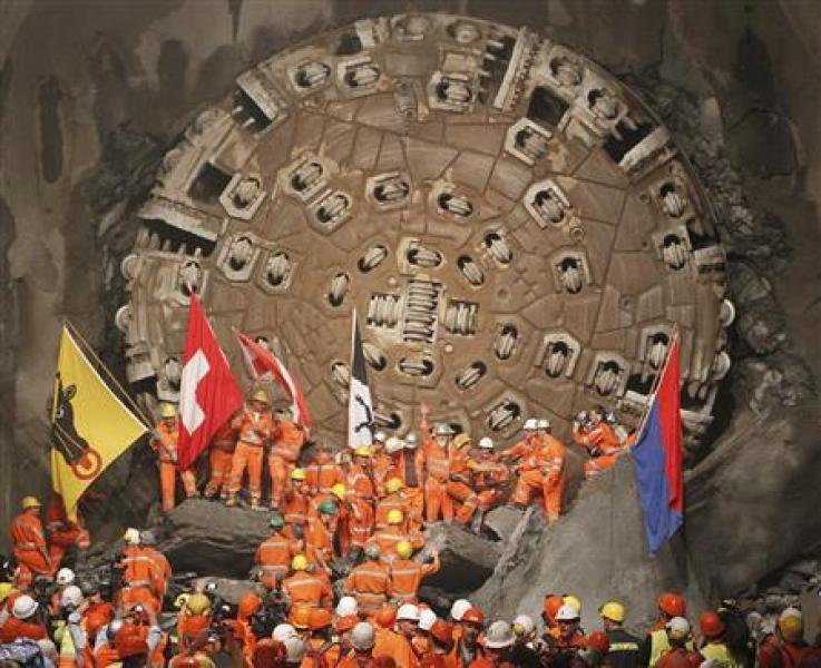 Le tunnel le plus long du monde