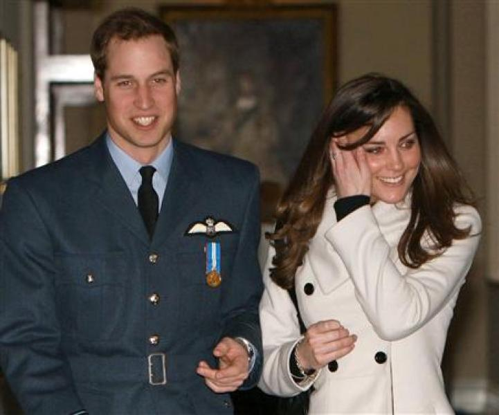 Le prince william épousera kate middleton l'an prochain