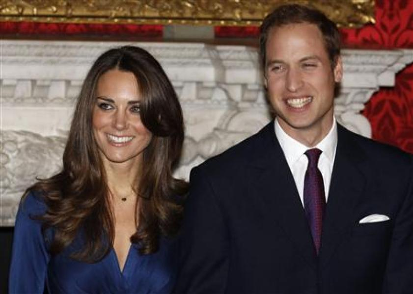 Le prince william épousera kate middleton le 29 avril