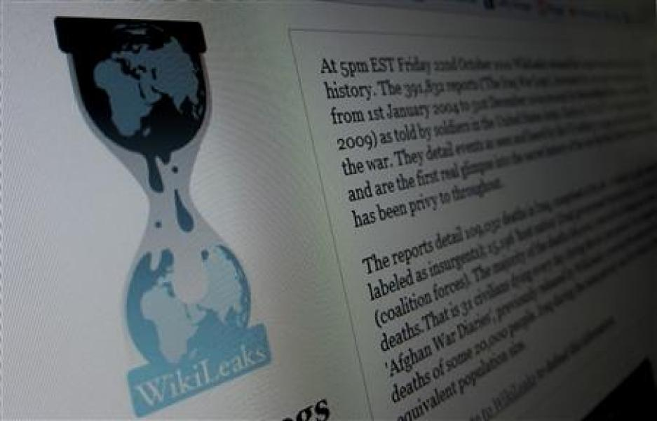 L'élysée soutient washington dans l'affaire wikileaks