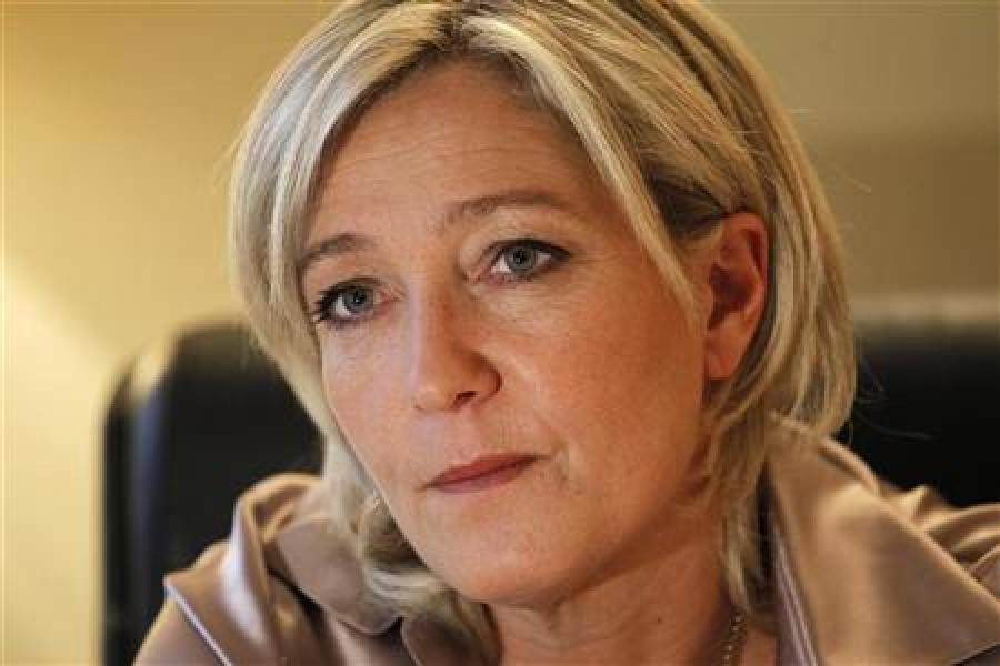 Percée de marine le pen dans l'opinion