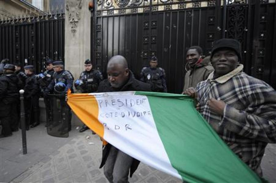Fin de l'occupation de l'ambassade ivoirienne à paris