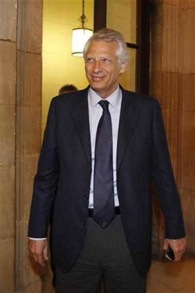 Condamnation requise en appel contre dominique de villepin