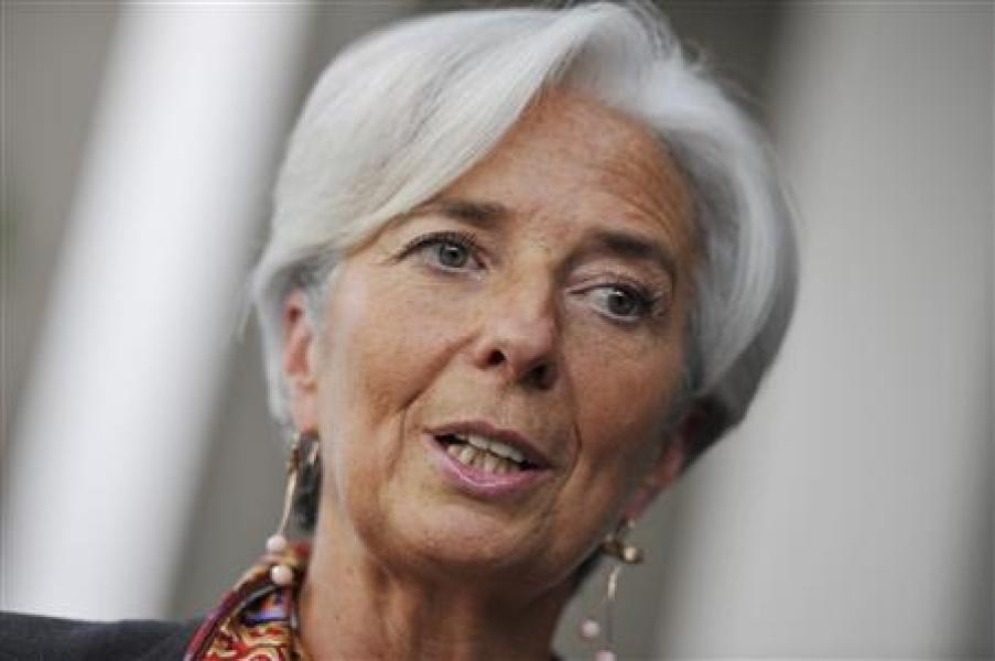 ?grand oral? de christine lagarde devant le fmi