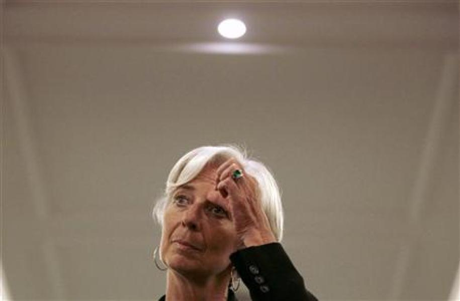 Washington soutient la candidature de christine lagarde au fmi