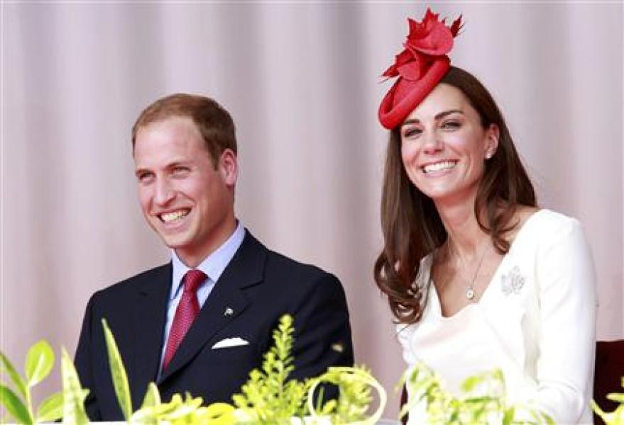William et kate en visite au canada