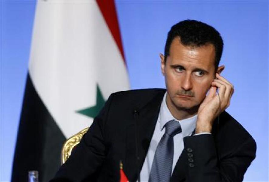Appels internationaux à la démission de bachar al assad