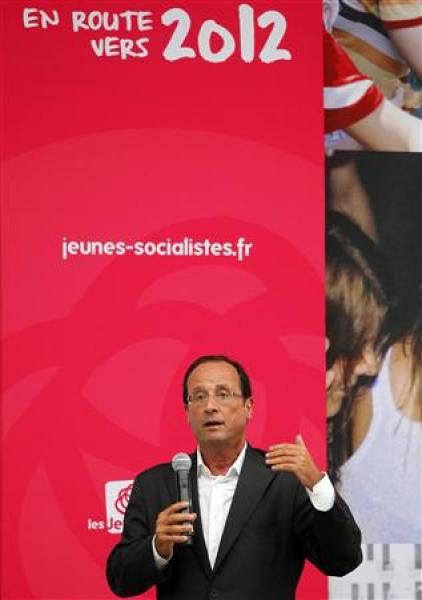"La tentation du ""tous contre hollande"" à l'université du ps à la rochelle"