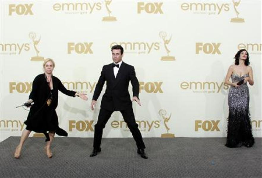 La série mad men couronnée aux emmy awards