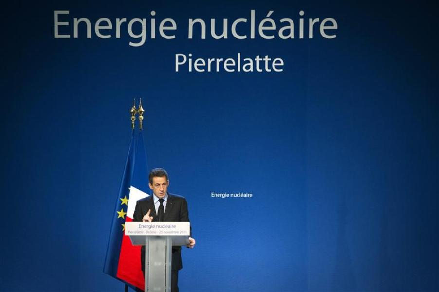 Nicolas sarkozy sonne la charge contre l'accord ps-verts