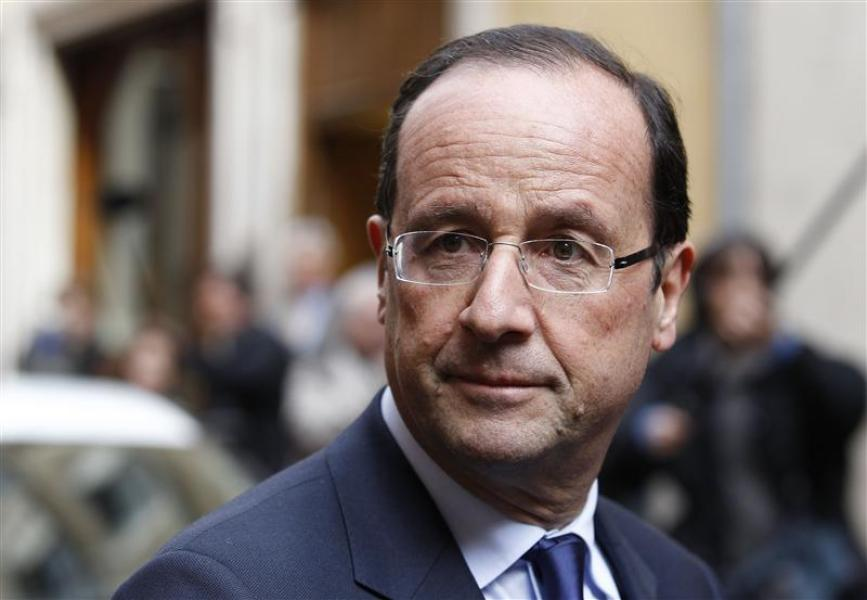 Francois hollande reste en tête des intentions de vote au 1er tour, selon opinionway