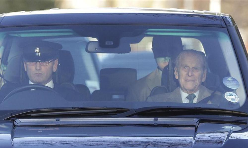 Le prince philip sort de l'hôpital