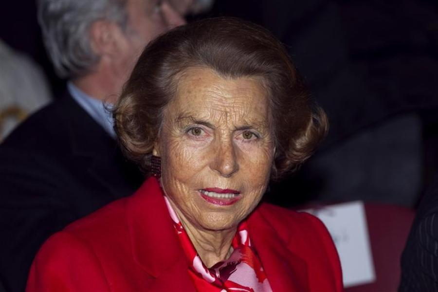 Liliane bettencourt entendue par des juges