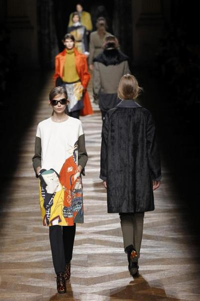 Dries van noten ou l'art de l'imprimé