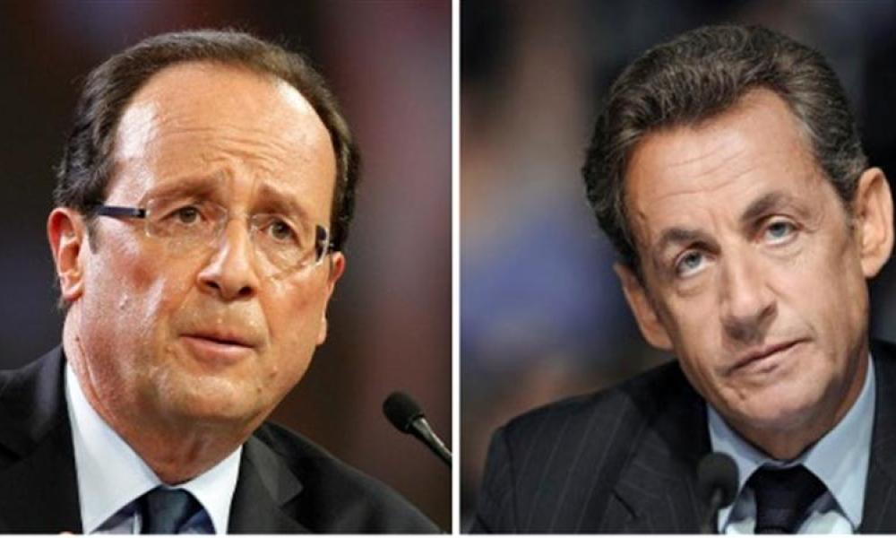 Un point sépare hollande et sarkozy au 1er tour, selon harris