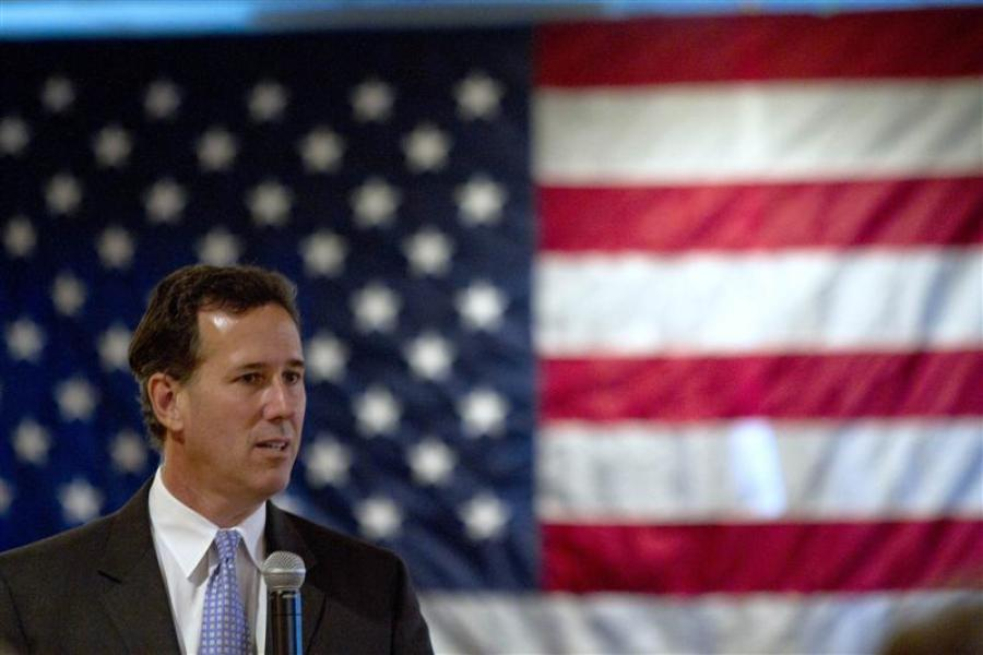 Rick santorum s?impose en louisiane