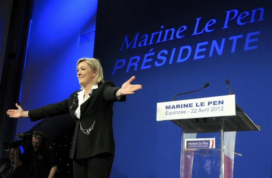 Marine le pen va tenter d'arbitrer le second tour