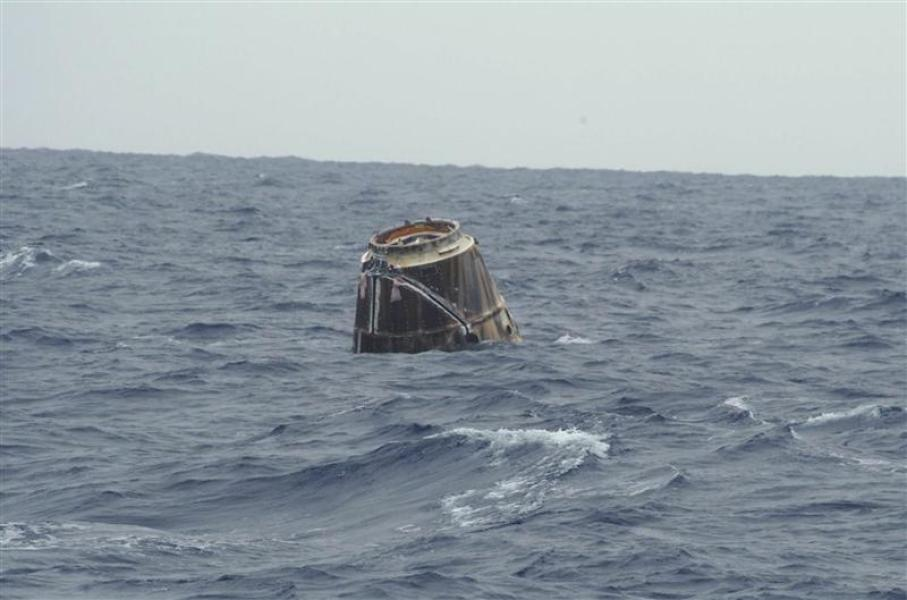 Mission accomplie pour la capsule dragon