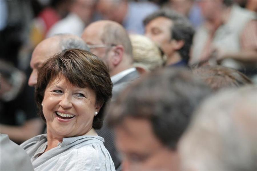 Martine aubry prend le temps d'organiser sa succession au ps