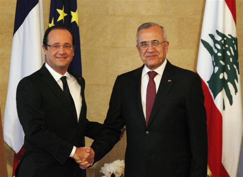 à beyrouth, françois hollande assure que la france s?opposera aux tentatives de déstabilisation du liban