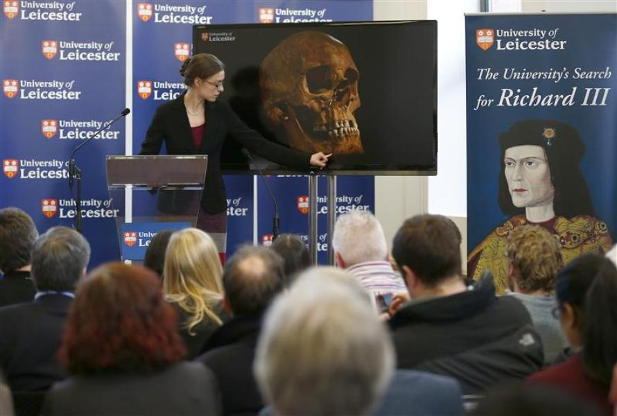 Les restes de richard iii authentifiés