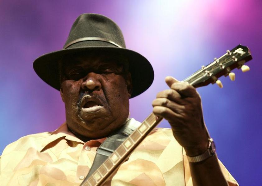 Le bluesman magic slim est mort