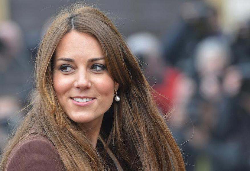 Kate middleton attendrait une fille