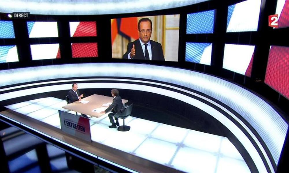 "François hollande, la solitude du ""chef de bataille"""