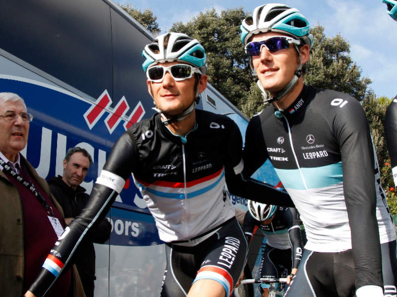 Andy et Frank Schleck
