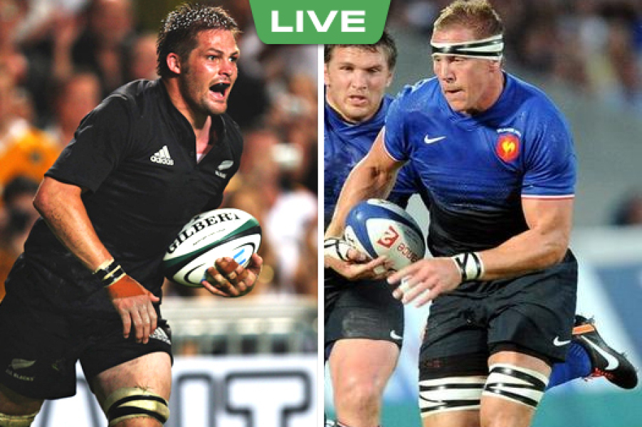 FRA-NZ : Les Blacks enfoncent (0-12)