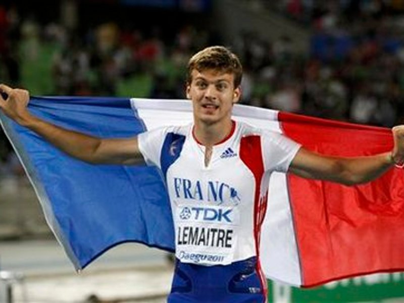 Christophe Lemaitre champion d'Europe sur 100m