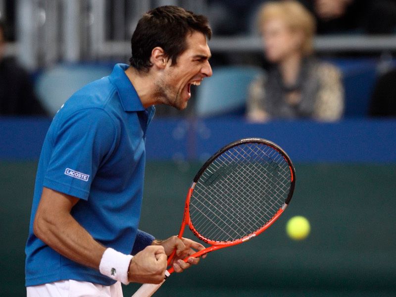 Chardy s'offre Istomin