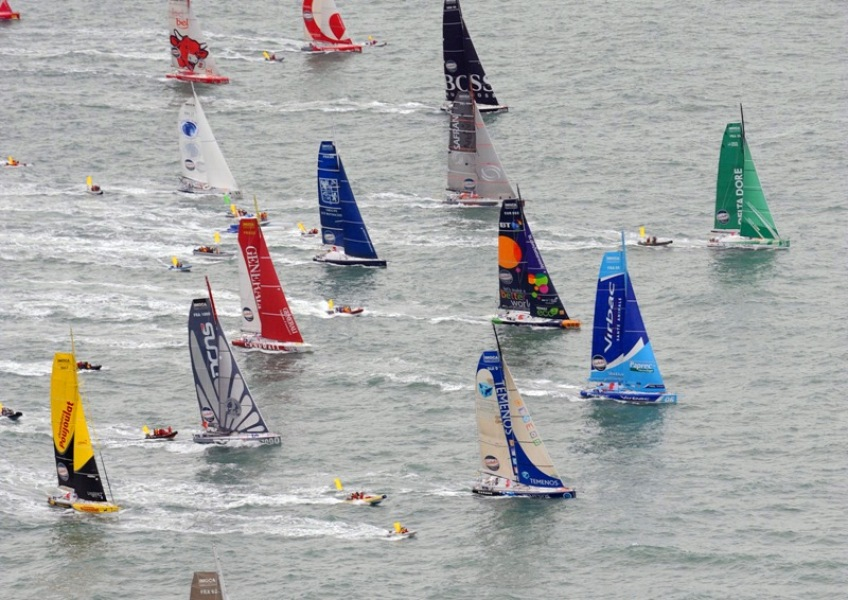 Vendée Globe – Stamm : « Un grand moment d'émotion »