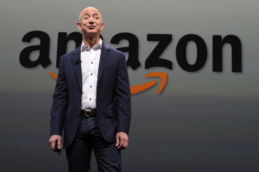 Jeff Bezos, le PDG d'Amazon.