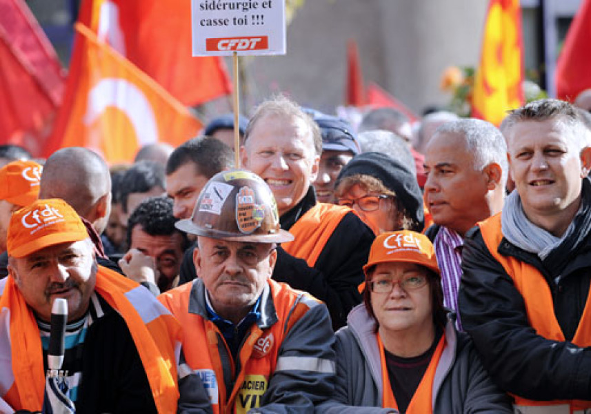 Accord avec ArcelorMittal : les syndicats toujours sceptiques