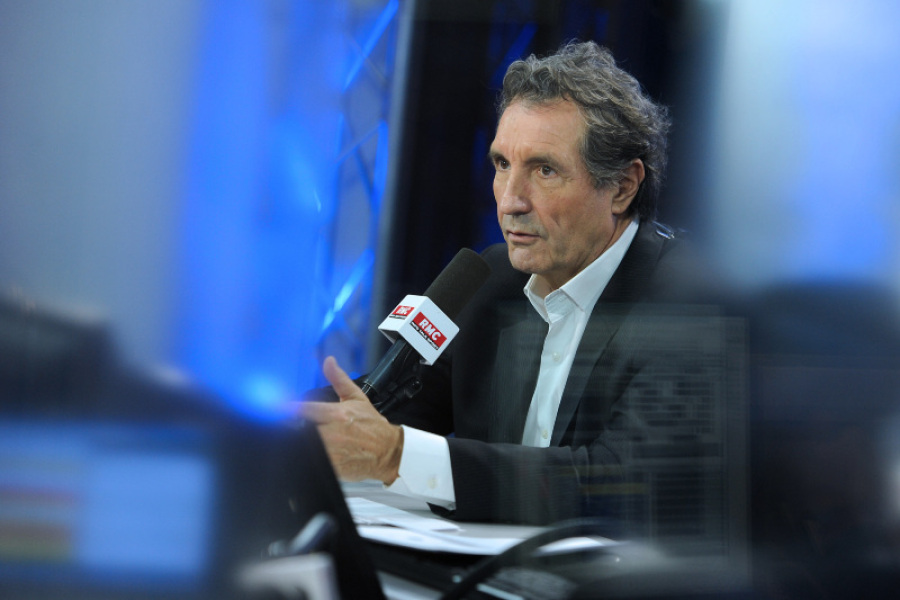 Jean-Jacques Bourdin en studio