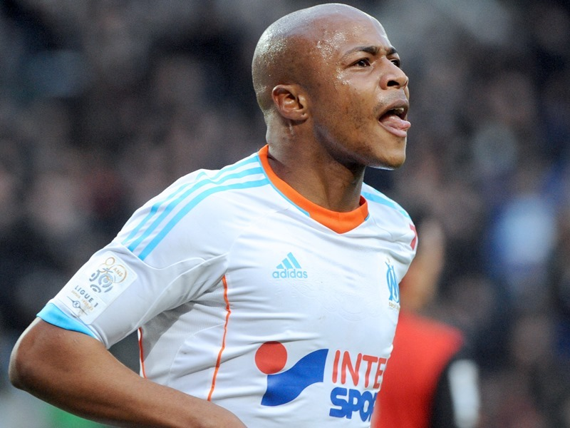 OM-Toulouse : A. Ayew ouvre le score (1-0, MT)