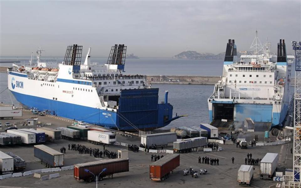 Ferries de la SNCM.