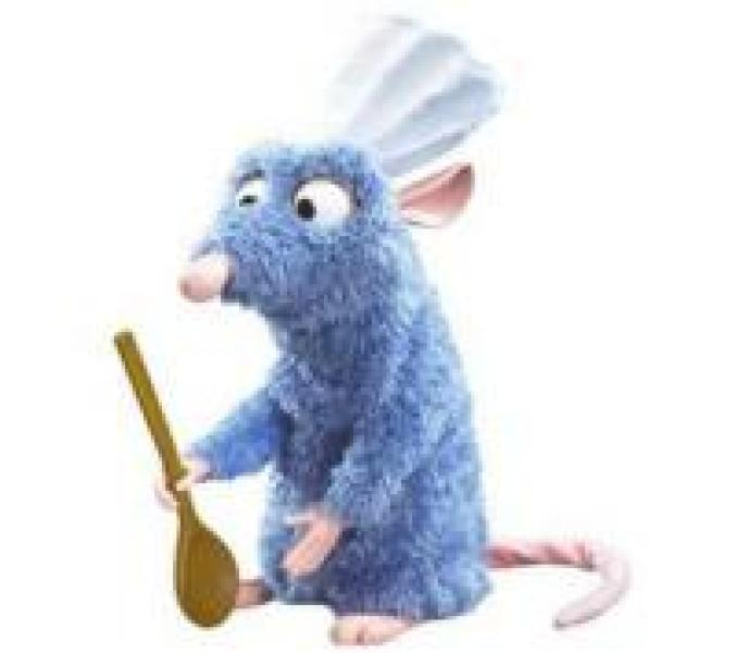 Ratatouille, le chef Rémy