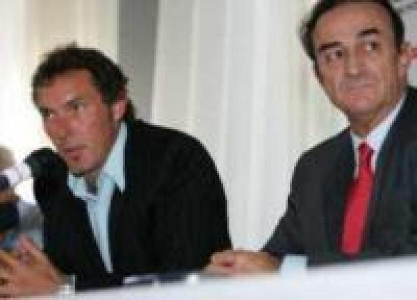 Laurent Blanc et Jean-Louis Triaud