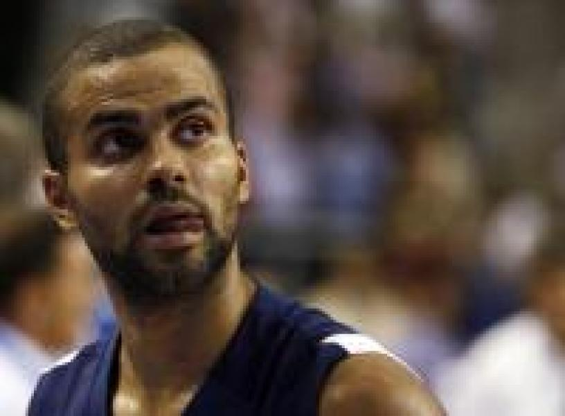 Tony Parker, capitaine de l'équipe de France
