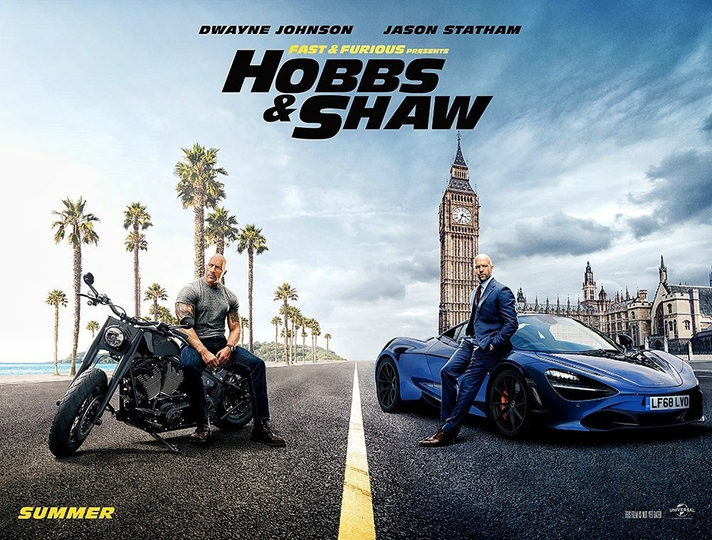Affiche de Hobbs and Shaw