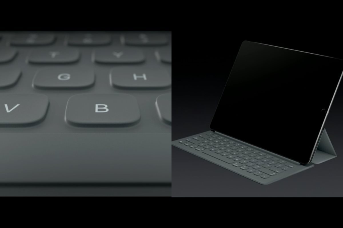 apple ipad pro une tablette g ante avec un stylet et un clavier. Black Bedroom Furniture Sets. Home Design Ideas