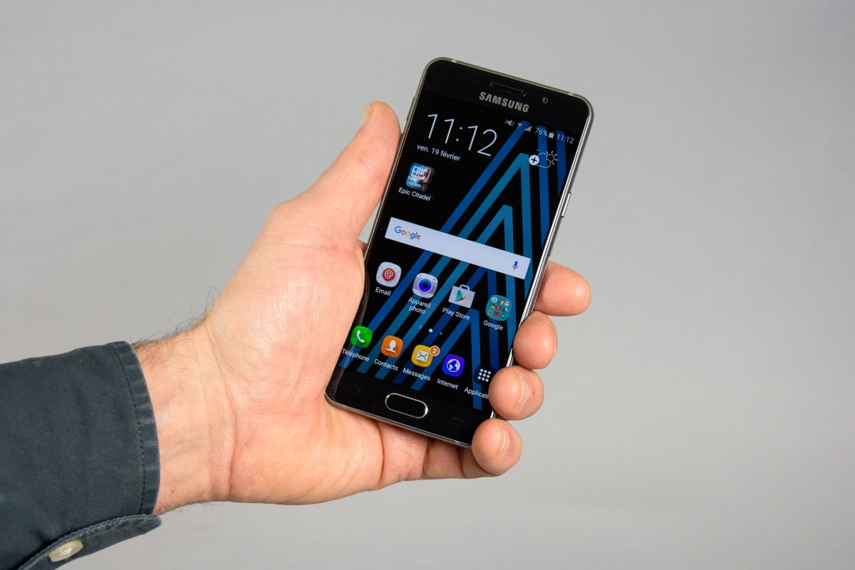 Test : Samsung Galaxy A3 (2016)