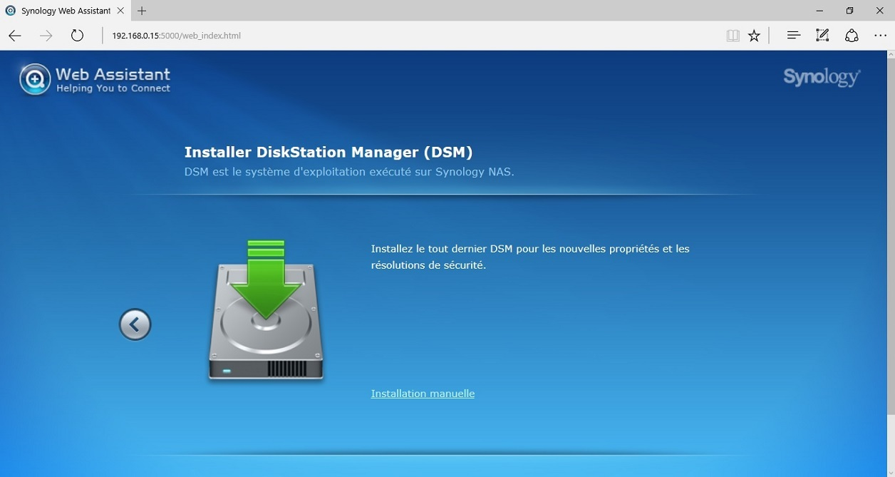 ASSISTANT TÉLÉCHARGER SYNOLOGY